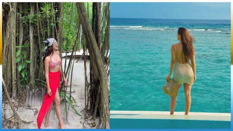 Kiara Advani adds boho touch to bikini